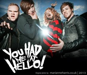 You Had Me At Hello! announce debut album